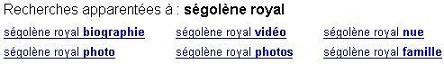 Ségolène Royal - Screen capture